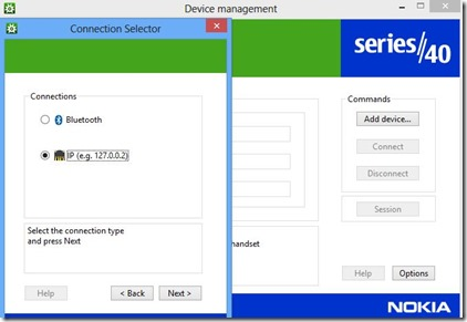 Nokia - Connection Manager